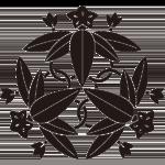 池田三つ竜胆紋